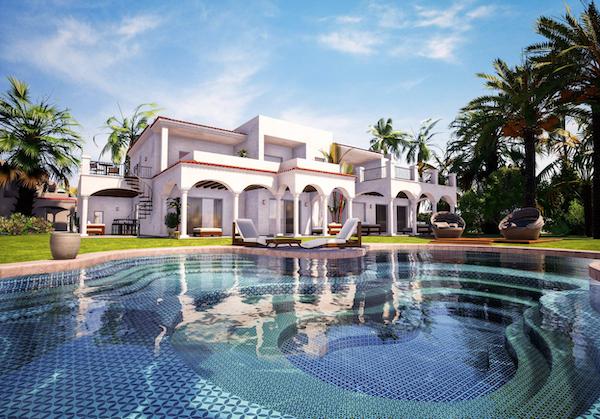 programme immobilier villa avec piscine